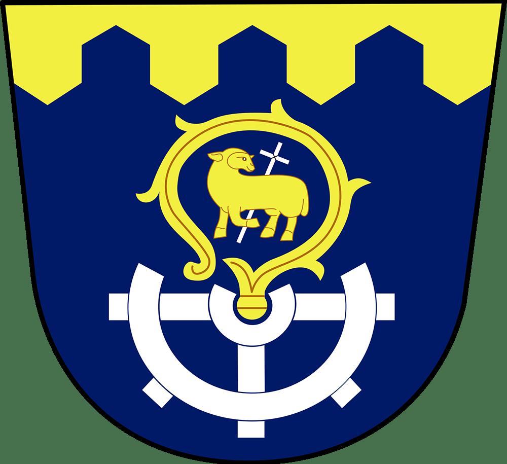 Oficiální znak obce Počaply